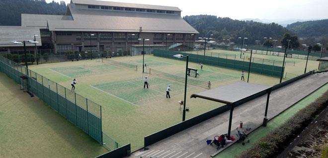 大原公園テニスコート