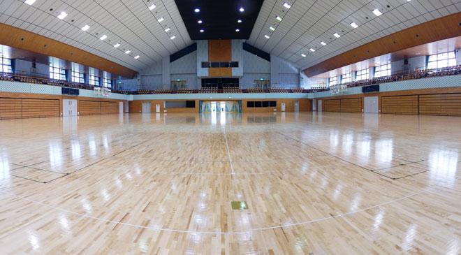 総合体育館アリーナ